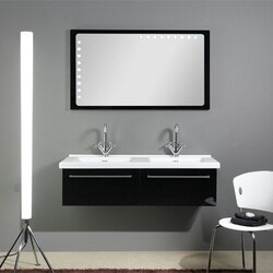 IOTTI FL5 FLY COLLECTION 47.6 INCH DOUBLE VANITY SET