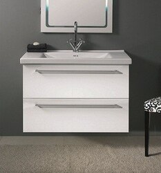IOTTI FN13/FN14 FLY COLLECTION W. 35.8 INCH VANITY WITH TWO DRAWERS