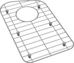 ELKAY GOBG1118SS STAINLESS STEEL 9-3/4 X 16-4/9 INCH SINK BOTTOM GRID