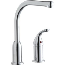 ELKAY LK3000CR EVERYDAY KITCHEN DECK MOUNT FAUCET WITH REMOTE HANDLE