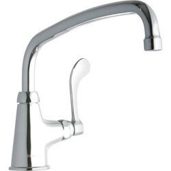 ELKAY LK535AT12T4 SINGLE HOLE FAUCET, 12 INCH ARC TUBE SPOUT AND 4 INCH HANDLE