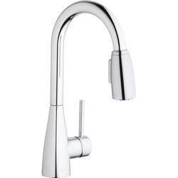 ELKAY LKAV4032 AVADO SINGLE HOLE BAR FAUCET WITH PULL-DOWN SPRAY AND FORWARD ONLY LEVER HANDLE