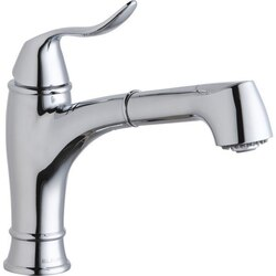 ELKAY LKEC1042 EXPLORE SINGLE HOLE BAR FAUCET WITH PULL-OUT SPRAY