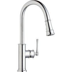 ELKAY LKEC2031 EXPLORE SINGLE HOLE KITCHEN FAUCET WITH PULL-DOWN SPRAY AND FORWARD ONLY LEVER HANDLE