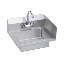 ELKAY EHS-18-S-RX ECONOMY 18 L X 14-1/2 W X 11 D HAND SINK WITH RIGHT SIDE SPLASH GUARD