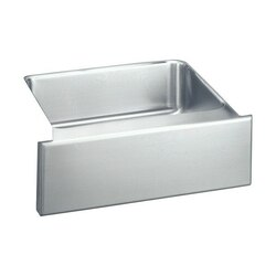 ELKAY ELUHF2520DBG LUSTERTONE 25 L X 20-1/2 W X 7-7/8 D APRON FRONT UNDERMOUNT KITCHEN SINK WITH DRAIN AND BOTTOM GRID