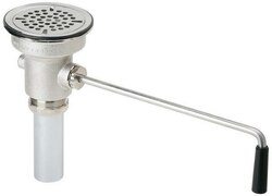 ELKAY LK24RT DRAIN FITTING ROTARY LEVER OPERATED WITH 1-1/2 INCH OD TAILPIECE
