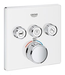 GROHE 29165LS0 GROHTHERM SMARTCONTROL TRIPLE FUNCTION THERMOSTATIC TRIM WITH CONTROL MODULE