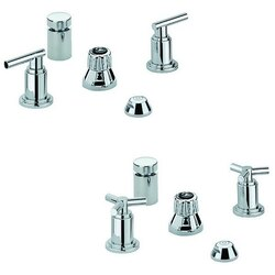 GROHE 24016000 ATRIO FIVE-HOLE BIDET FAUCET M-SIZE IN CHROME