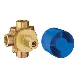 GROHE 29901000 CONCETTO 2-WAY DIVERTER ROUGH-IN VALVE (SHARED FUNCTIONS) IN BRUSHED NICKEL