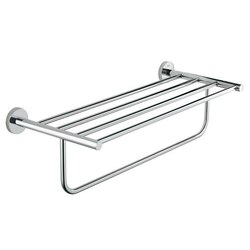 GROHE 40462001 BAUCOSMOPOLITAN MULTI-TOWEL RACK IN POLISHED CHROME