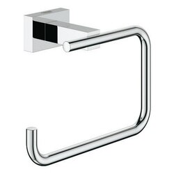 GROHE 40507001 ESSENTIALS CUBE TOILET PAPER HOLDER IN CHROME