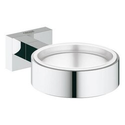 GROHE 40508001 ESSENTIALS CUBE HOLDER IN CHROME