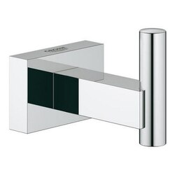 GROHE 40511001 ESSENTIALS CUBE ROBE HOOK IN CHROME
