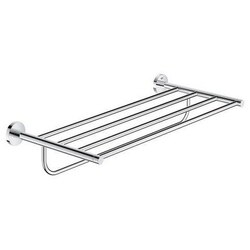 GROHE 40800001 ESSENTIALS MULTI BATH TOWEL RACK IN CHROME