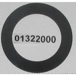 GROHE 01322000 RUBBER MNT WASHER FOR LADYLUX IN CHROME