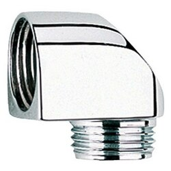 GROHE 45304000 OUTLET ELBOW IN CHROME