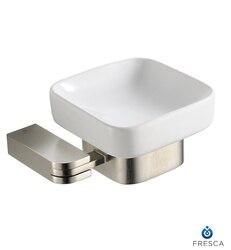 FRESCA FAC1308BN SOLIDO SOAP DISH - BRUSHED NICKEL