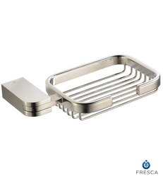 FRESCA FAC1309BN SOLIDO SOAP BASKET - BRUSHED NICKEL