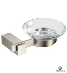 FRESCA FAC1403BN ELLITE SOAP DISH - BRUSHED NICKEL