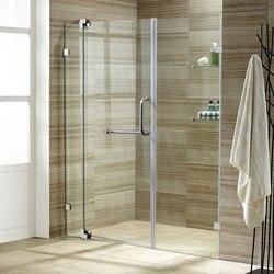 VIGO VG6042BNCL48 FRAMELESS 48-INCH SHOWER DOOR 3/8 INCH CLEAR GLASS