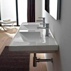 SCARABEO 3006 ML 48 INCH BATHROOM DOUBLE SINK
