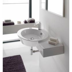 SCARABEO 2011 WISH 34.4 INCHES BATHROOM SINK