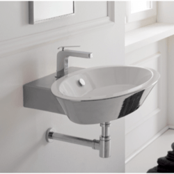 SCARABEO 2003 WISH 26.8 INCHES BATHROOM SINK