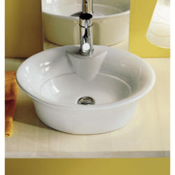 SCARABEO 8005 SAX 19.3 INCHES BATHROOM SINK