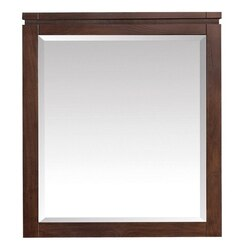 AVANITY GISELLE-M29-NW GISELLE 29 INCH MIRROR IN NATURAL WALNUT