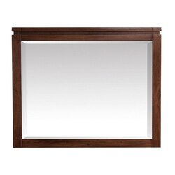 AVANITY GISELLE-M38-NW GISELLE 38 INCH MIRROR IN NATURAL WALNUT