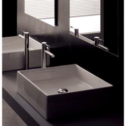 SCARABEO 8031 TEOREMA 18.1 INCHES BATHROOM SINK
