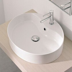 SCARABEO 8030/R WIND 21.3 INCHES BATHROOM SINK
