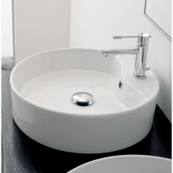 SCARABEO 8029/R GEO 17.7 INCHES BATHROOM SINK