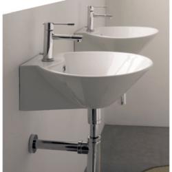 SCARABEO 8010/R CONO 16.5 INCHES BATHROOM SINK