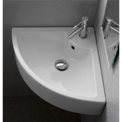 SCARABEO 8007/E SQUARE 18.5 INCHES BATHROOM SINK