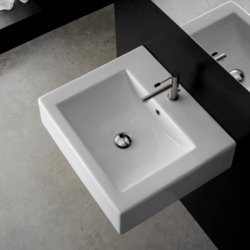 SCARABEO 8007/B SQUARE 23.6 INCHES BATHROOM SINK