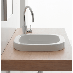 SCARABEO 8047/A NEXT 16.1 INCH BUILT-IN WASHBASIN