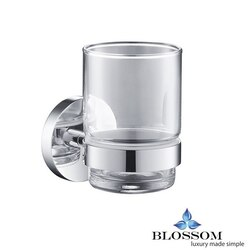 BLOSSOM BA02 503 01 TOOTHBRUSH HOLDER IN CHROME