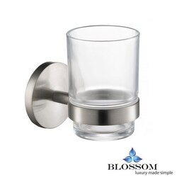 BLOSSOM BA02 503 02 TOOTHBRUSH HOLDER IN BRUSH NICKEL