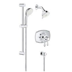 GROHE 35053001 GROHFLEX SHOWER SET THERMOSTAT VALVE IN CHROME