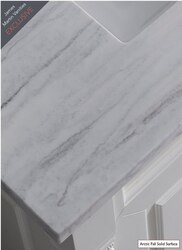 JAMES MARTIN 080-825-S22-AF 22 INCH SOLID SURFACE ARCTIC FALL VANITY TOP FOR THE 825 COLLECTION (3 CM, NO SINK)