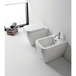 SCARABEO 8303 NEXT MODERN WHITE CERAMIC TOILET