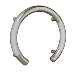 PULSE SHOWERSPAS 4002-SSB ERGOVALVEBAR WITH ERGONOMIC SOFT GRIP IN BRUSHED STAINLESS STEEL