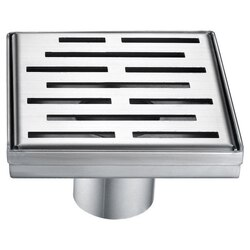 DAWN LAN050504 AMAZON RIVER SERIES SQUARE SHOWER DRAIN 5 INCH
