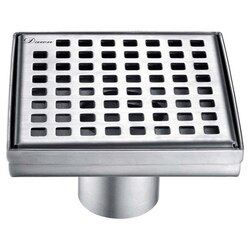 DAWN LBE050504 BRISBANE RIVER SERIES SQUARE SHOWER DRAIN 5 INCH