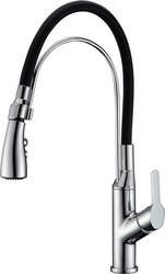 DAWN AB50 3729C SINGLE-LEVER PULL-OUT KITCHEN FAUCET IN CHROME