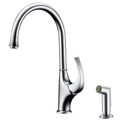 DAWN AB04 3276C SINGLE-LEVER KITCHEN FAUCET WITH SIDE-SPRAY IN CHROME