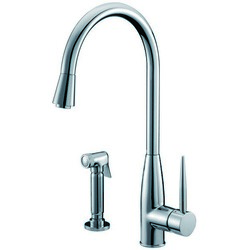 DAWN AB50 3178C SINGLE-LEVER KITCHEN FAUCET WITH SIDE-SPRAY IN CHROME