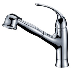 DAWN AB50 3708C SINGLE-LEVER PULL-OUT SPRAY KITCHEN FAUCET IN CHROME